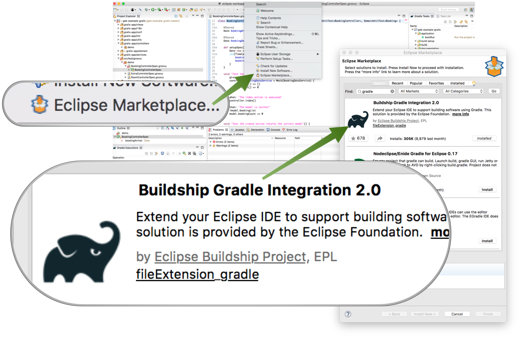 Buildship Gradle plugin