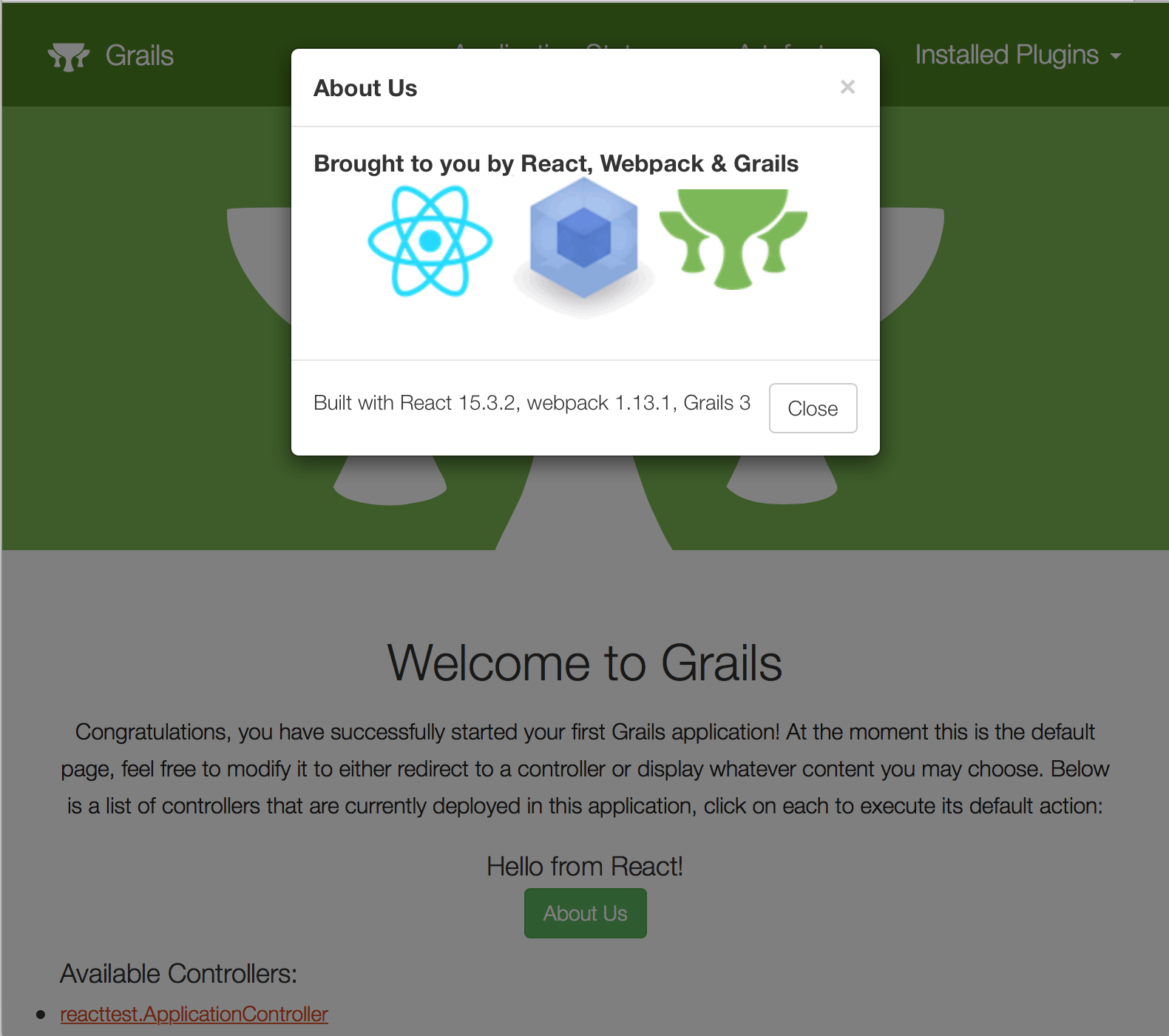 Introducing the React Profile for Grails | OCI Grails Team Blog
